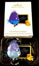 Hallmark Keepsake One FINtastic Teacher 2012 Christmas Holiday Ornament ... - £7.94 GBP