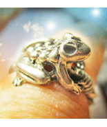 HAUNTED RING ILLUMINATI UNLOCKING LUCK CYCLES EXTREME MAGICK MYSTICAL TR... - $377.77