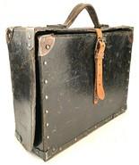 Antique Attaché Briefcase-Joy Taylor, Vaudeville Singer Sheet Music Case-Vtg - $467.49