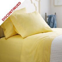 RALPH LAUREN CLASSIC QUEEN FLAT SHEET 100%COTTON 350TC YELLOW MADE IN US... - $149.75