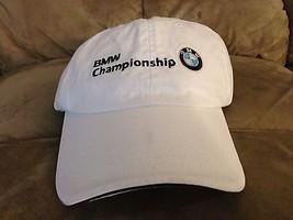 BMW CHAMPIONSHIP  CAP WHITE  ADJUSTABLE NEW   - $28.71