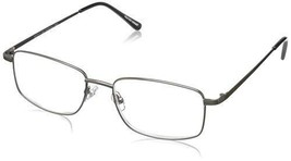 Foster Grant Men's T10 PolarizedSquareReaders, Gunmetal,2.75 - $19.99
