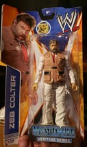 Zeb Colter WWE Mattel Basic Series 37 Action Figure In Hand NEW 1st Figure - $15.99