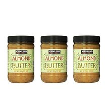Kirkland Signature Creamy Almond Butter, 27 Ounce (Pack of 3) - $46.07