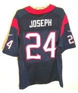 Houston Texans Johnathan Joseph #24 NFL AFC 2002-2012 Blue Red White Jer... - $79.19