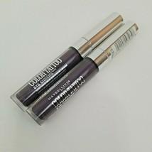 2x Maybelline Color Tattoo Eye Chrome Eyeshadow 570 Sharp Purple 0.11 Fl Oz - $9.75