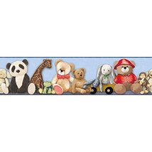 York Wallcoverings Brothers and Sisters V My Favorite Teddy Border, Ligh... - $16.82