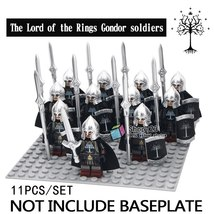 11pcs/set Gondor Soldier The Lord of the Rings Battle of the Morannon Lego Toy - $18.99