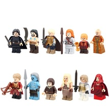 12pcs Game of Thrones White Walker Jon Snow MOC Ice and Fire Fit Lego Set - $18.50