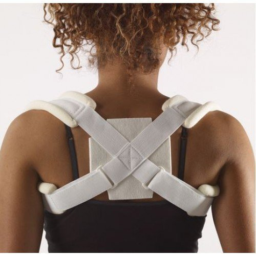 Corflex Broken Clavicle Treatment Sling for Fractured Clavicle - XXS - White - $19.57