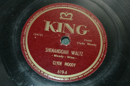 Clyde Moody There's big Rock In the Road & Shenandoah Waltz VTG 78 RPM R... - $19.79