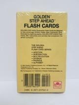 GOLDEN STEP AHEAD SUBTRACTION FLASH CARDS. 54 Count. 1984 Vintage Flash Cards image 2