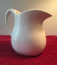 Vintage 60s White McCoy 365 Milk pitcher