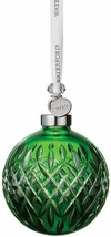 Waterford Crystal 2019 Emerald Ball Christmas Ornament # 40035473 New - $222.75
