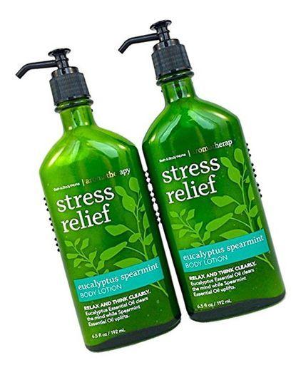 BATH & BODY WORKS Aromatherapy Stress Relief -Eucalyptus & Spearmint Travel Size