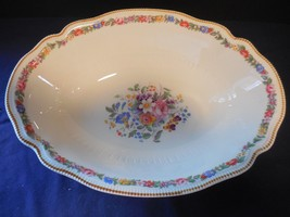 """Johnson Brothers Marlow (Older) Old Staffordshire Oval Vegetable Bowl 9 1/8"""" - $22.99"""