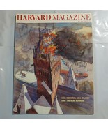 Harvard Magazine May 1988 Memorial Hall Aflame Scar Remains S3 - $39.99
