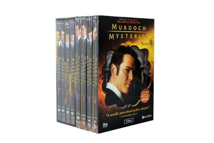 Murdoch Mysteries Bundle Seasons 1-9 1 2 3 4 5 6 7 8 9 DVD Brand New for sale  USA