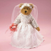 "Boyds Bears ""Mrs. Everluv"" 11"" Plush Bride- Style #4015448- 2009 -NEW -Retired - $79.99"