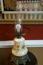 "lamp , Vintage 1973 Quoizel Hurricane Lamp Switch glass lamp Shade 27""  ... - €120,34 EUR"