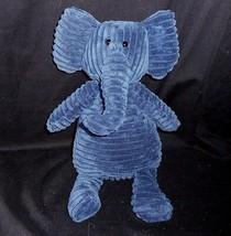 """16 """" Jellycat Cordy Corrduroy Marineblau Elefant Plüschtier Spielzeug Weich - $30.73"""