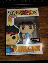 Ryu Funko Pop #14 Game Stop Exclusive Black Friday Only!!! Street Fighter 8 Bit - $15.99