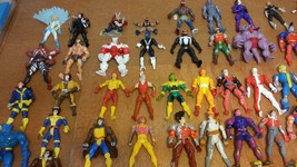 66 Marvel and DC 3.75-4.00 inch action figures rare and hard to find - $198.00