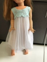 Nightgown dress and shoes fits Patti Playpal doll - $29.95