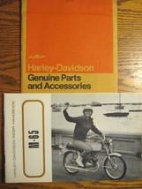 1968 1969 Harley Davidson M-65 Owner's Owners Manual Rider Handbook, w Envelope - $34.65