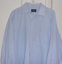 Alfani Mens Large 16.5 32-33 Long Sleeve 100% Cotton Dress Shirt - $8.06