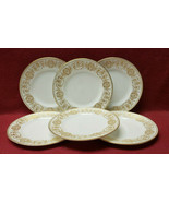 Set of SIX (6) ROYAL WORCESTER China - POMPADOUR Pattern - DESSERT/BREAD PLATES - $39.95