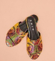 Anthropologie Chio Brocade Slide Sandals $158 Sz 39 Eur 8 US - NIB - $84.99