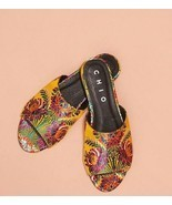 Anthropologie Chio Brocade Slide Sandals $158 Sz 39 Eur 8 US - NIB - £65.66 GBP