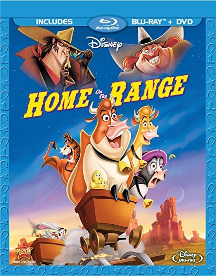 Disney Home On The Range (Blu-ray/DVD) (2004)