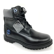 "Timberland Women's 6"" Premium Black Ice Leather Boots A1Q84 - $99.99"
