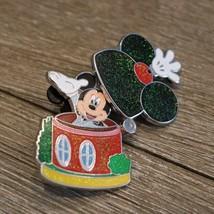 Disney 2014 HKDL Hong Kong Disneyland Glitter House Trading Pin Mickey Mouse - $10.88