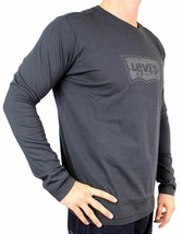 Levi's Men's Premium Classic Graphic Cotton Long Sleeve T-Shirt Shirt Tee image 2