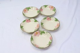 "Franciscan Desert Rose Fruit Dessert Bowls 5"" Lot of 5 - $29.39"