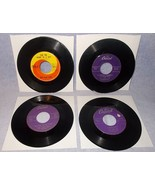 Eight 45 RPM Record Lot Nat King Cole Ray Charles Mills Brothers Mathis 1A - $5.95