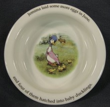 Royal Doulton Childs 2 Handled Cup & Bowl Beatrix Potter Jemima Puddleduck image 2