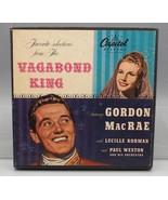 Vintage Selections From The Vagabond King Gordon McRae Vinyl (3) 45 Set - $4.94