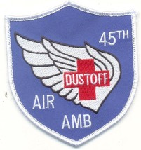 Us Army 45TH Dust Off Medical Company Air Ambulance Patch New!!! - $11.87