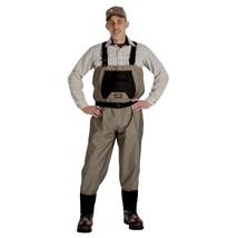 Caddis Mens Breathable Stockingfoot Waders - Large Tan - $100.42