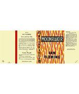 Fleming-facsimile jacket for 1st UK ed. of MOONRAKER - $22.00