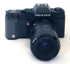 PENTAX A3000 SLR 35mm Film Camera TAKUMAR 28-80mm f/3.5 Zoom Macro Lens ... - $62.10