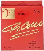 R.cocco RC5C n Richard Here Bass Saiten 5-strings Nickel .045 125 Gratis... - $53.23