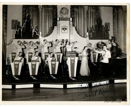 """Autograph Photo """"Mart"""" Kenney Canadian jazz musician and bandleader 8X10... - $20.00"""