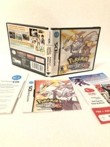 Pokemon: White Version 2 Nintendo DS CASE & INSERTS/MANUAL ONLY! No Game! - $10.88