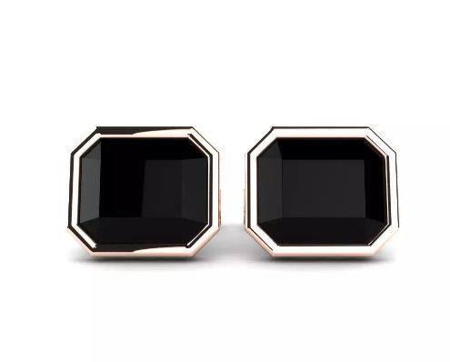 925 Sterling Silver Genuine Black Onyx Gemstone Artistic Design Handcrafted 22k  image 2