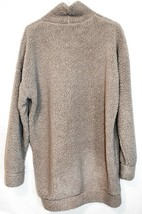 Missguided Women's Grey Oversized Fleece Sweater Dress US 4   UK 8   EUR 36 image 2